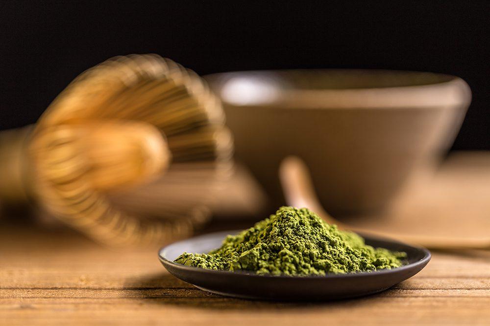 אבקת תה מאצ'ה