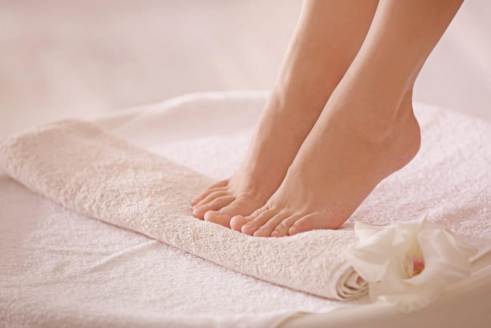 טיפוח כפות הרגליים